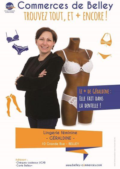 Géraldine lingerie féminine